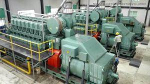 2X1250kw Generador Diesel Hfo/Set/planta de energía en el proyecto de azúcar en Nigeria