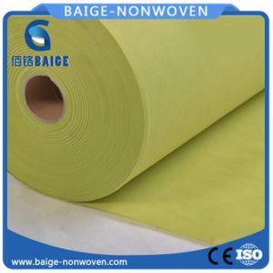 Tessuto non tessuto bianco dei pp Spunbond per la cassa del cuscino
