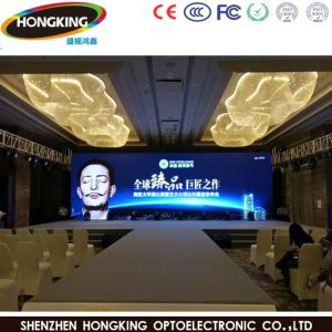 Grand angle de visualisation large HD de location de P4 SMD LED affichage vidéo