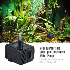 Высокое качество Bluefish Бесщеточный Micro водяной насос постоянного тока для небольшой фонтан