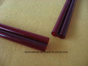 熱い販売の磨く赤い水晶ガラス管