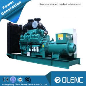 1000kVA diesel refroidi par eau- générateur de puissance du moteur