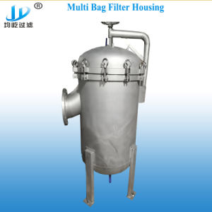 150 psi em aço inoxidável de alta qualidade do alojamento do filtro de mangas múltiplos