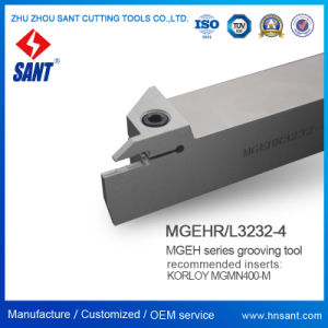 Outil à tronçonner indexable&rainurage Mgehr3232-4 avec Mgmn400-M Insert