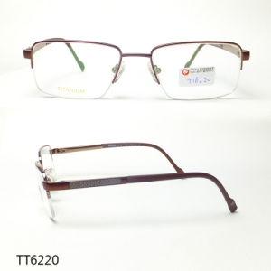 Frame van het Titanium van mensen het Modieuze Optische (TT 6220)