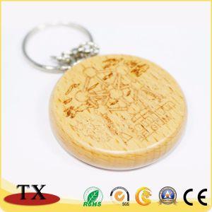 صنع وفقا لطلب الزّبون شكل خشب الزّان [كي شين] خشبيّة مع ينقش علامة تجاريّة