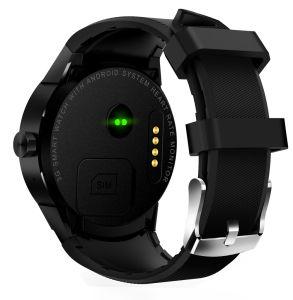 Monitor de freqüência cardíaca Smart assista o Android 4.1 Mtk6572um bracelete Podômetro impermeável com GPS 3G