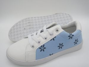 Inyección de último diseño Skate Zapatos Zapatos de ocio (FZL7802-31)
