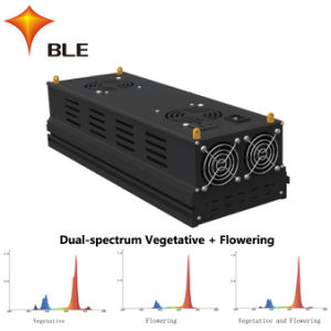 Luz de Horticultura LED 300W/400W com alta saída nominal