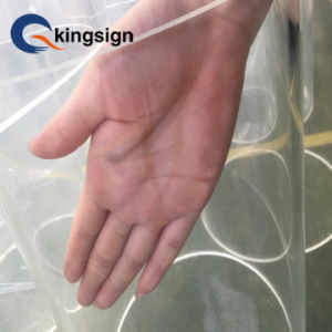 La Chine de la fabrication de transmittance élevée clair Tube en acrylique moulé
