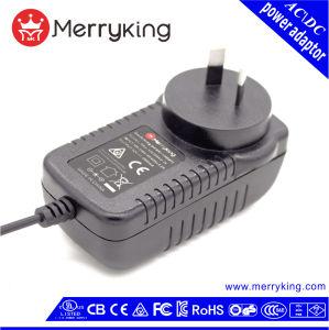 증폭기를 위한 SAA 호주 Au 플러그 12V 2.5A 30W AC 직류 전원 접합기