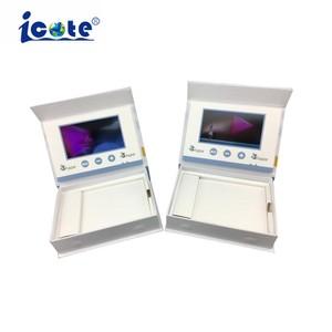 Caixa de oferta de Vídeo LCD com serviço de OEM