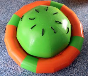 Aqua Park flotando en el Spinner, Inflables inflables Saturno Ly-Wt mar13