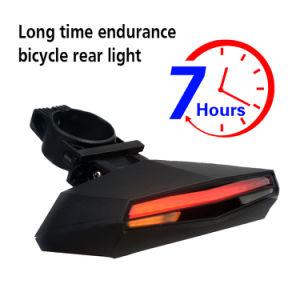 Новые продукты 2018 предупреждение системы безопасности заднего велосипед заднего фонаря освещения велосипеда аккумулятор USB