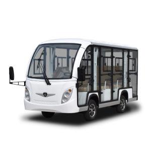 China Fornecedor 48V assinaladas 11 Zhongyi passageiros preço bom serviço de autocarro eléctrico