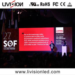 高品質のイベントのための屋内使用料P4.81mm LEDビデオスクリーンのパネルSMD2121フルカラーLEDのビデオウォール・ディスプレイスクリーン
