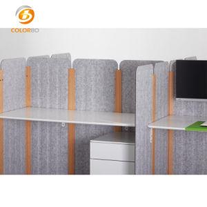 Qualitäts-Polyester-Faser-Schreibtisch-Bildschirm für Büro