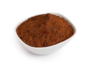 Alaklized Cacau em pó 10%-12% de gordura de cor castanha escura, Feijão da África Ocidental