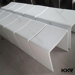 カスタムアクリルの石造りの樹脂の浴室の腰掛けの椅子