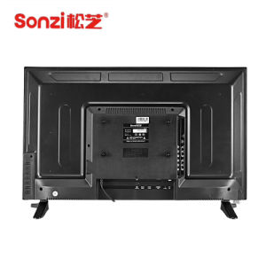 Sonzi 32 Zoll dünnes LED volles HD Fernsehen Fernsehapparat-