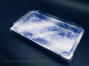 Divers styles de imprimé Sushi classique des boîtes en plastique