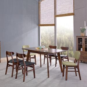 La moderna mesa de comedor Extensible de madera nórdica Restaurante muebles para el hogar