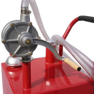 Caddy de carburant, gaz de pétrole Caddy Caddy tambours avec pompe rotative à deux voies 30gal