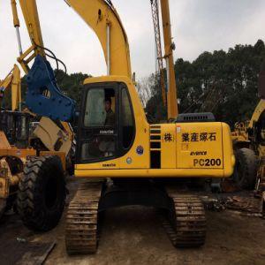 Escavatore utilizzato il Giappone idraulico utilizzato del cingolo di KOMATSU PC200-6 da vendere
