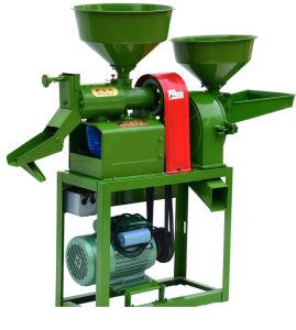ディーゼル機関を搭載する多機能の米の粉砕機
