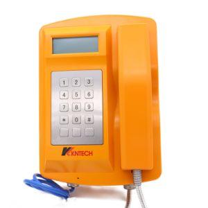 Knsp-18ЖК-Высокопроизводительный промышленный водонепроницаемый IP66 дна телефон