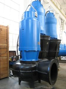 Vertikale Pumpe