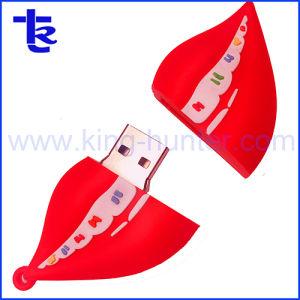 Настраиваемые формы рот флэш-накопитель USB для компании рекламных подарков