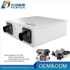 Erv le type de famille Air frais de qualité Certifiée Full-Heat du système de ventilation de l'échangeur