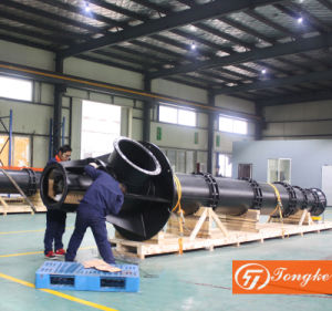 Pompa ad acqua lunga a più stadi verticale della turbina dell'asta cilindrica