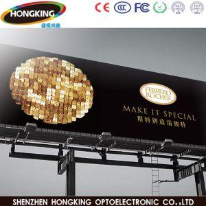 Outdoor P6 mur vidéo couleur pour la publicité de l'écran à affichage LED