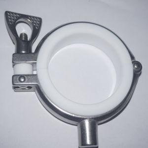 Morsetto di tubo sanitario dell'acciaio inossidabile 304 con la guarnizione di PTFE