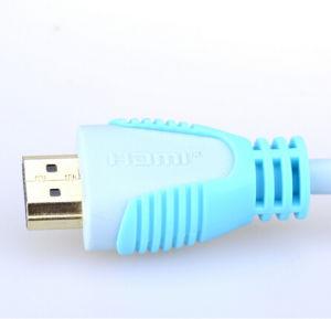 24k Kabel des GoldDVI zum HDMI Kabel