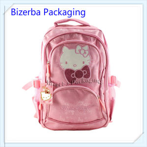2018 Se vende en caliente de los niños de alta calidad 3D Imprimir Bolsa Mochila escolar (EQ-003)