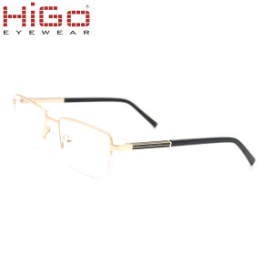 Optische Frame van het Metaal van de Voorraad van China van de mens het Model met Goede Prijs