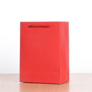 Gelbert 도매 쇼핑 종이 봉지 OEM Fsc에 의하여 증명되는 빨 수 있는 Kraft 종이 봉지