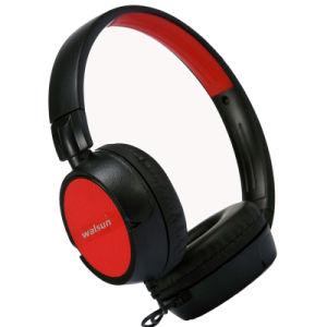 Neue Ankunft verdrahteter Stereokopfhörer mit dem 3.5mm Verbinder