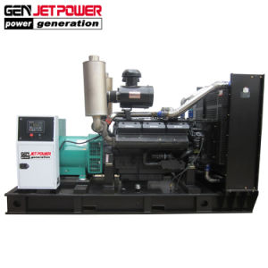 AC 400V 정격 전압 250kVA 500kVA 침묵하는 디젤 엔진 발전기