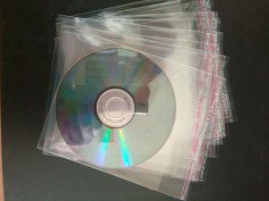 Sac de bonne qualité de l'OPP du manchon de l'OPP sacs opp OPP manchons avec Adheresive pour CD/DVD