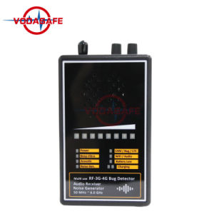 Contro-Uaj il rivelatore senza fili della macchina fotografica 1.2g/2.4G/5.8g che rileva la rete delle cellule di GSM 2g 3G 4G rilevare il gigahertz MHz~6.0 dell'intervallo 50