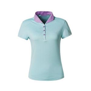 주문을 받아서 만들어진 옷 또는 의류 보통 공백 또는 줄무늬 인쇄하거나 인쇄한 자수 의복 또는 의복 면 불쾌 또는 저어지 숙녀 또는 여자의 폴로 티 셔츠