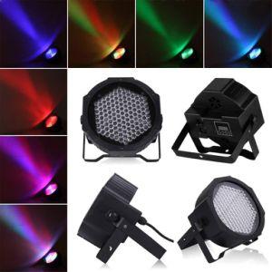 LED de luz a la par de plástico 127PCS RGB LED 30W de la etapa de la luz de fiesta
