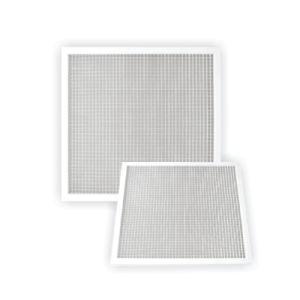 Parrillas de aluminio blancas de la transferencia