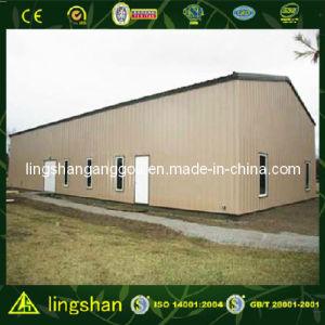 Пакгауз дома стальной структуры Shandong полуфабрикат (LS-SS-029)