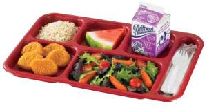 Plateau de compartiment / tiroir / bac d'aliments de collation