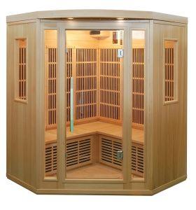 Joda Sauna Sauna de madera maciza de 3 a 4 persona
